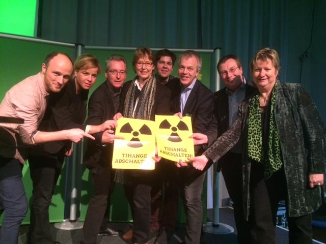 Thema Tihange auch beim Landtagswahl-Programmauftakt der GRÜNEN in Oberhausen am 30.1.16