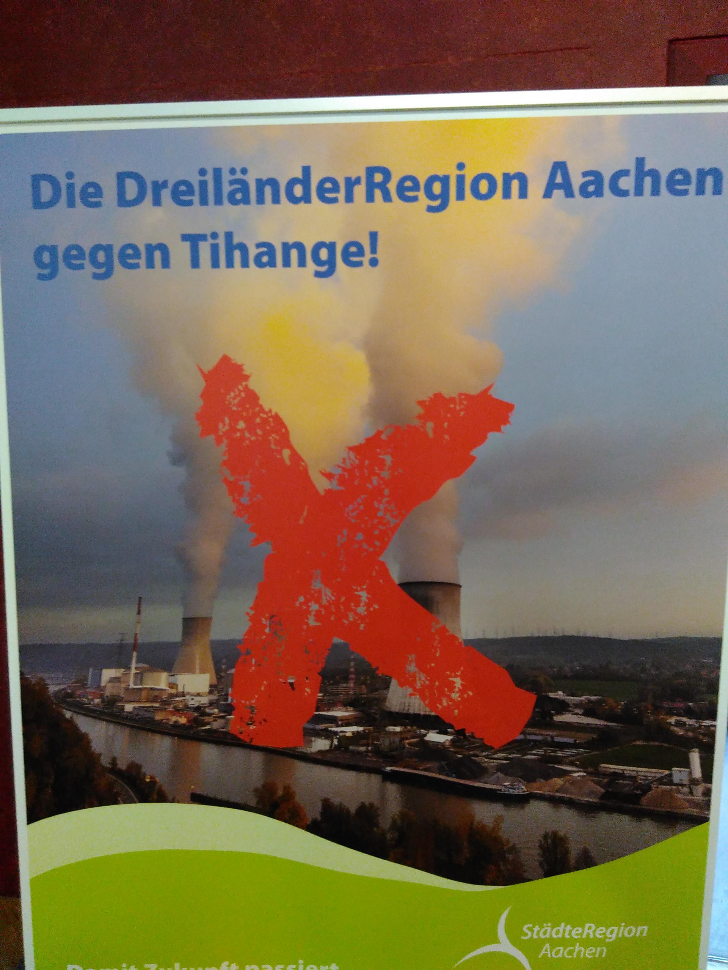 Maastricht schließt sich im juristischen Kampf gegen Tihange an