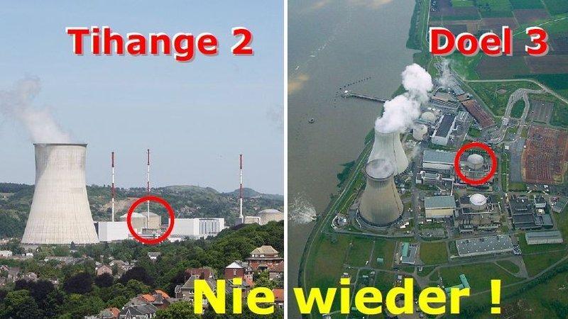Petition Widersprechen Sie dem Antrag auf Neustart der Rissreaktoren Tihange 2 und Doel 3″