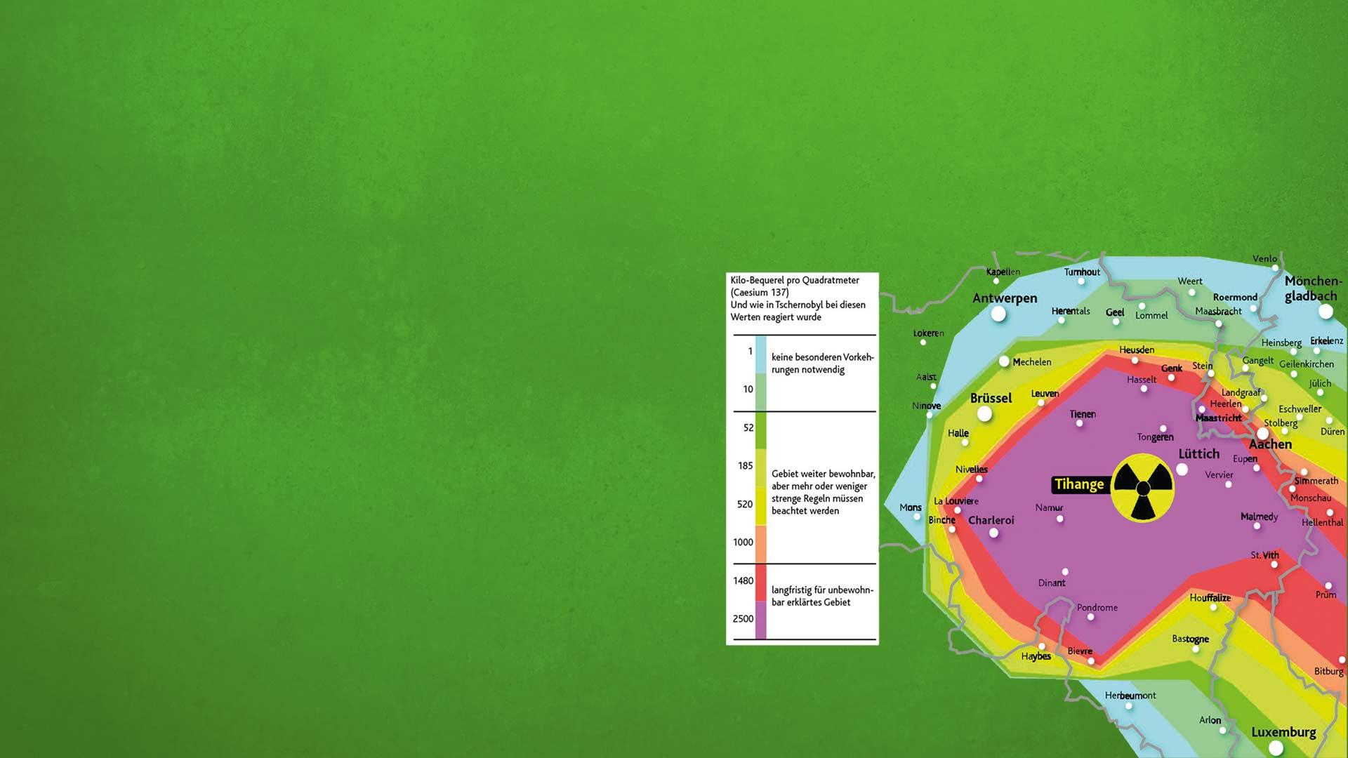 Bundesregierung verharmlost Gefahren durch belgische Atomkraftwerke!