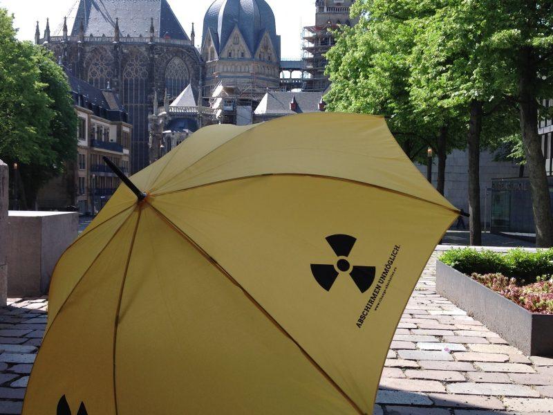 Klenkes ist ein gelber Schirm