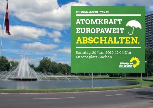 Demo gegen Atomkraft 26.6., Europaplatz