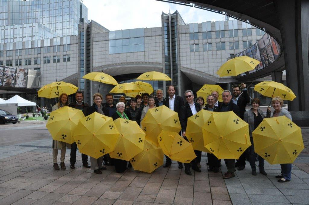 Die GRÜNE Landtagsfraktion schirmt sich ab vor dem EU Parlament!