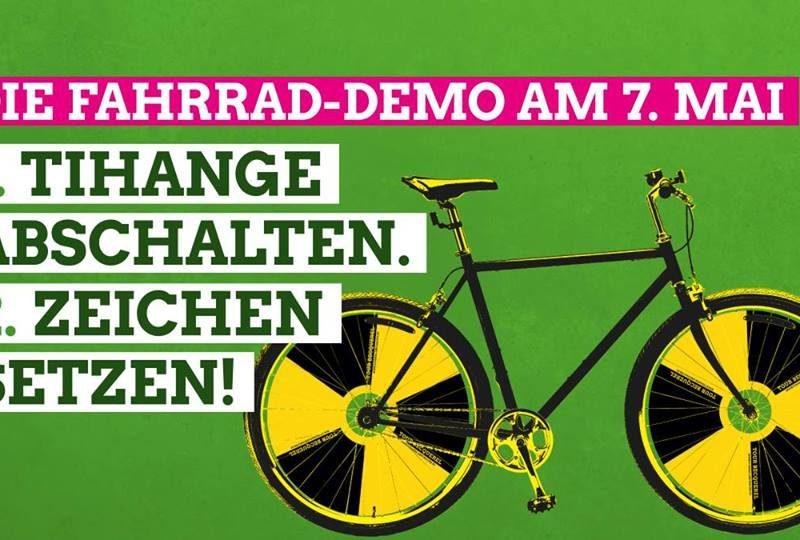 Becquerel Fahrradsternfahrt, Sonntag 7.5.2017, 13 Uhr