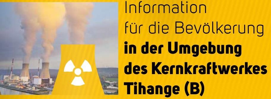 Broschüre der StädteRegion über Tihange