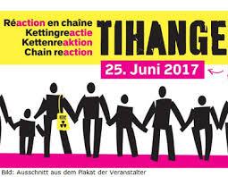 Menschenkette gegen Tihange