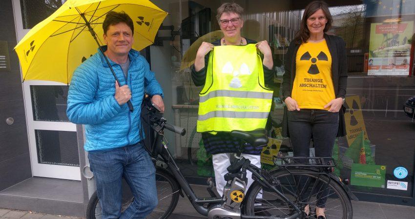 08.07.2018: Tour Becquerel II – Fahrrad Demo gegen Tihange