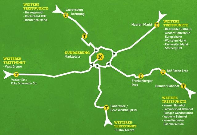 Routen Tour Becquerel