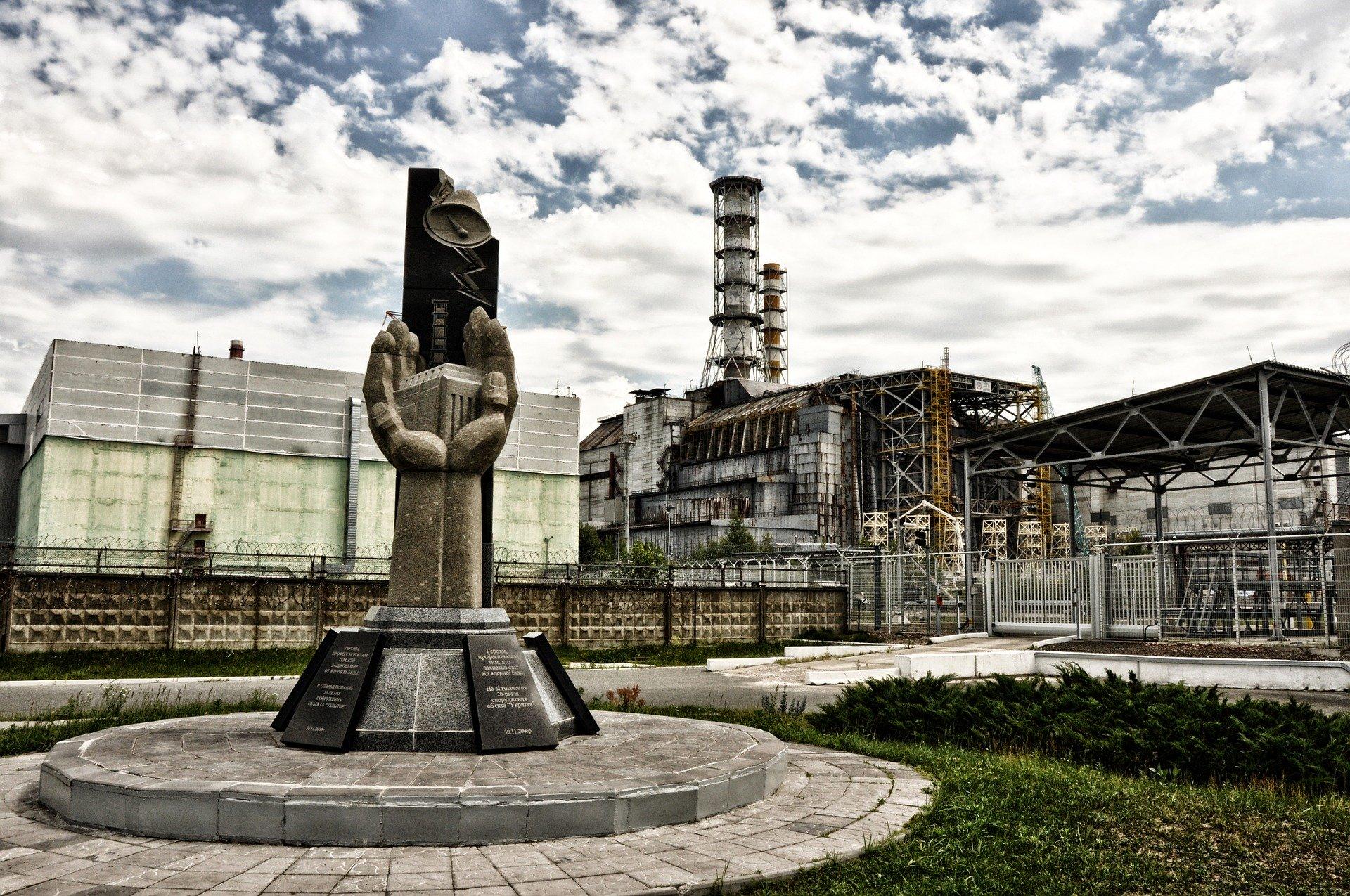 Aktionen gegen Tihange zum Tschernobyl Jahrestag